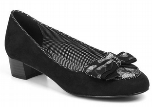 Ruby Shoo Victoria Black Shoes